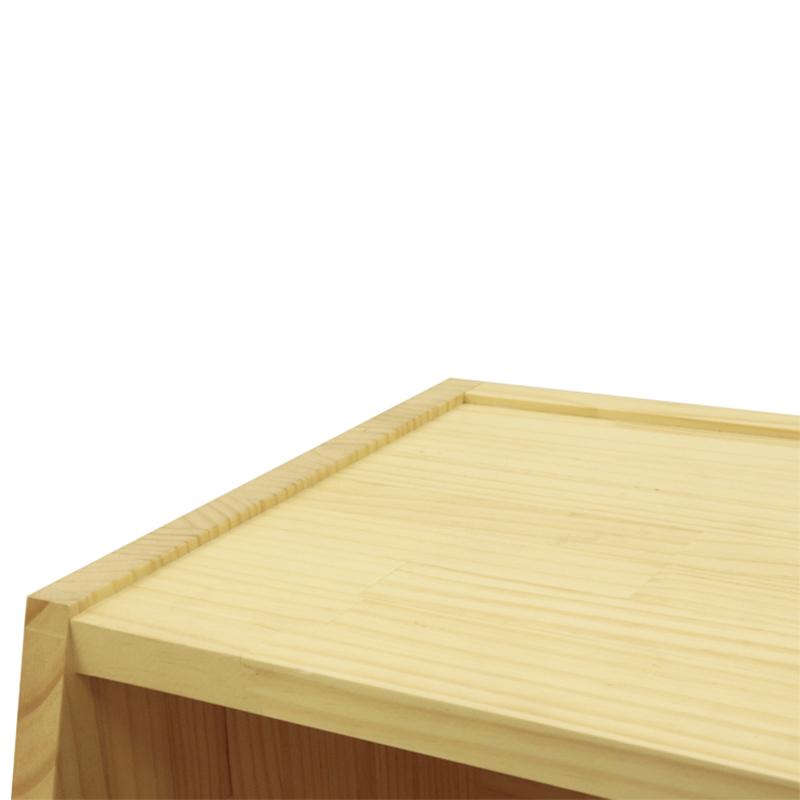 スタック木製棚(2分割タイプ) -3