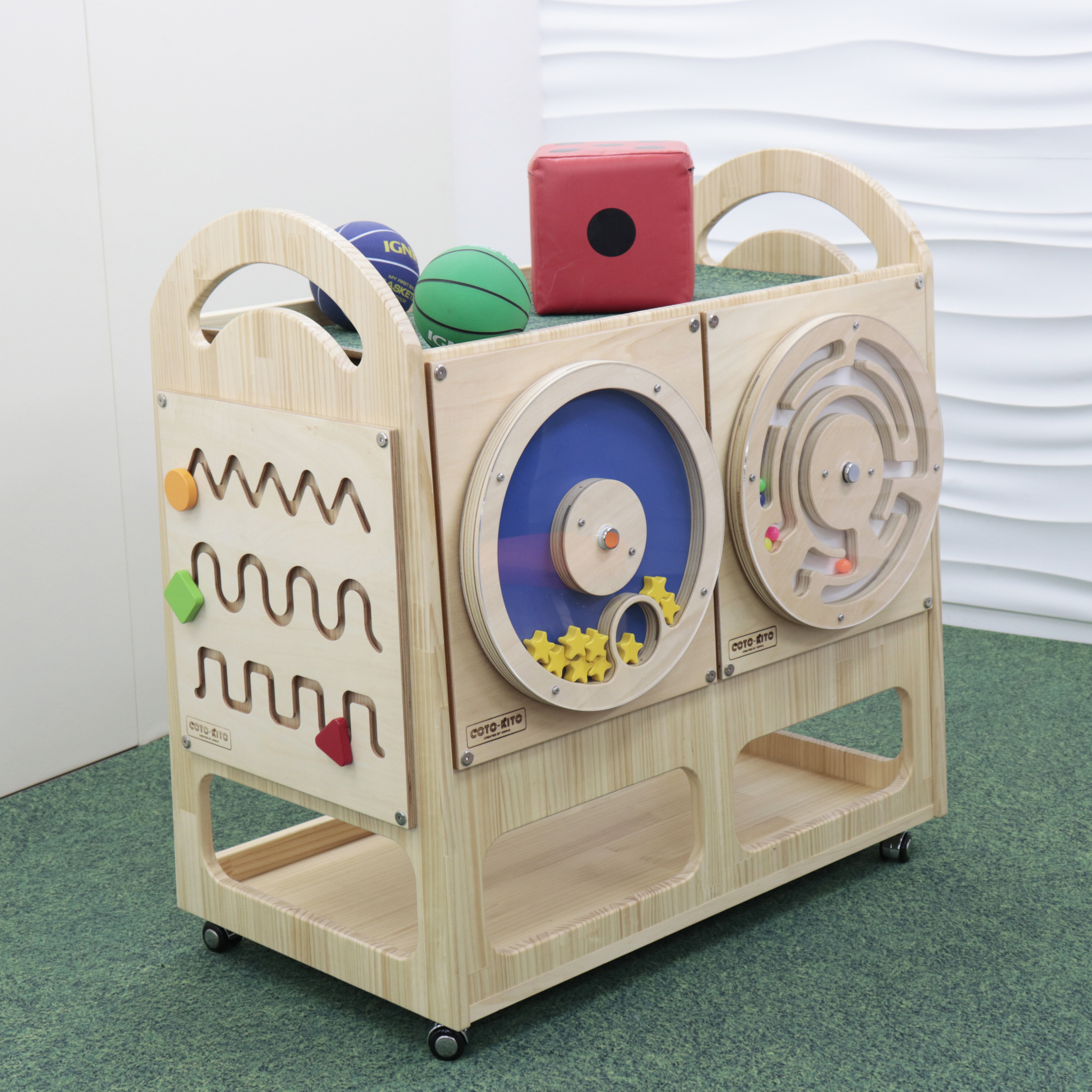 玩具ワゴン(大)-4