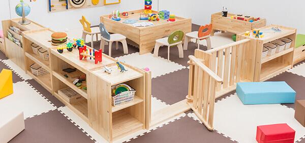 Storage furniture 木製子ども家具
